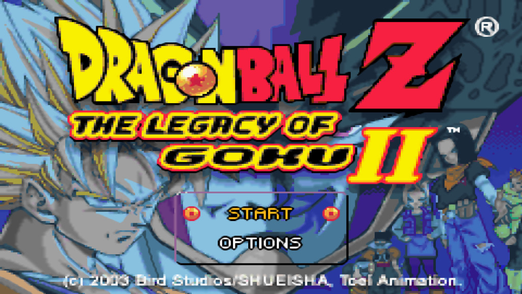 DRAGON BALL Z - THE LEGACY OF GOKU 2